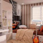 rideaux dans la chambre d'un garçon idées adolescent