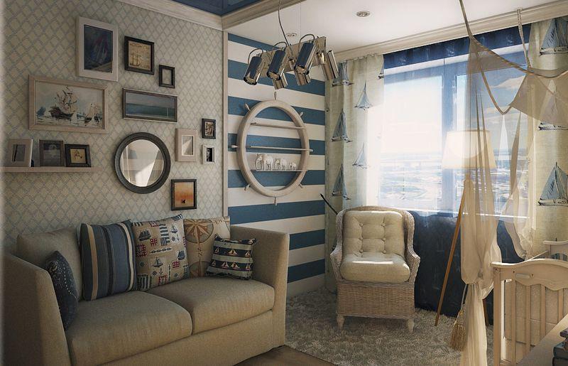 rideaux dans la chambre d'un adolescent