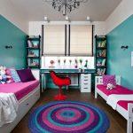 rideaux dans la chambre d'un garçon adolescent idées options