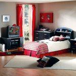 rideaux dans la chambre d'un garçon adolescent options