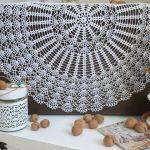 options de photo de la nappe au crochet
