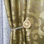 clous de décoration aimants pour rideaux