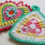 poignées au crochet design