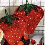 idées de design de pots de fleurs au crochet