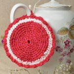 pot de fleurs au crochet photos