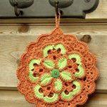 conception de photo de supports de pot de crochet