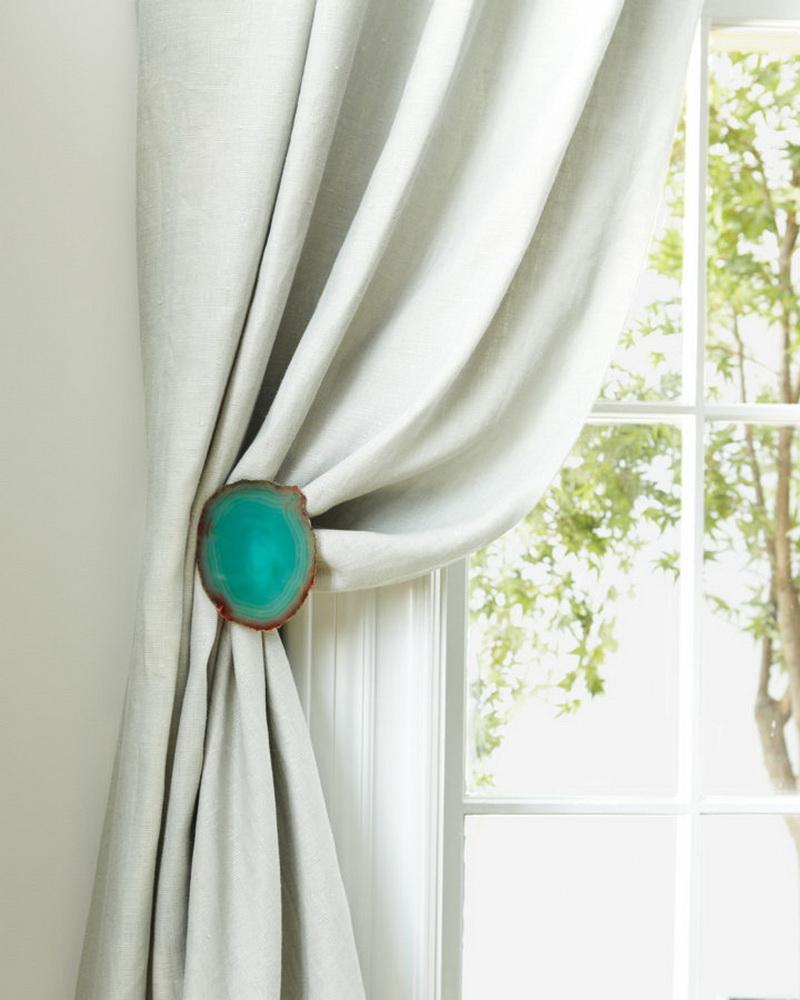 aimant pour la conception de photo de rideaux